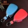 กระเป๋าซองหนังแท้ ใส่กุญแจรีโมทรถยนต์ หนังนิ่มสีสันสดใส H-ENHEMEIS (Pre)