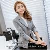 เสื้อสูททำงานผู้หญิงสีเทา ทรงสวย ดูดี เป็นทางการ ราคาถูก