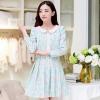 ชุดทำงานแฟชั่นเกาหลี ชุดทำงานออฟฟิศสวยๆ มินิเดรสสีชมพู ฟ้า เซ็ท 2 ชิ้น เสื้อคลุม + เดรสสั้น เข้าชุดกันสวยมากๆ ( S M L XL )
