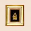 ของที่ระลึก กรอบทองลายพระพุทธชินราช (ขนาด : 5 x 6 นิ้ว )