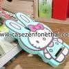 เคส zenfone 5 ซิลิโคน การ์ตูน 3D คิตตี้ หูกระต่าย สีมิ้นต์