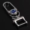 หัวโลหะกุญแจรีโมทรถยนต์ แบบ Hi - End อย่างดี โลโก้ Mazda สีน้ำเงิน