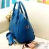 กระเป๋าแฟชั่นกระเป๋าสะพายไหล่ สีดำ และ สีฟ้า