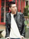 เสื้อแจ๊คเก็ตหนัง แฟชั่นเกาหลี