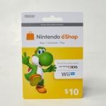 บัตรเติมเงิน eShop (US) 10$