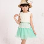 เดรสเด็กหญิง สีเขียว size 100 size พร้อมส่งค่ะสนใจติดต่อ id kukkea007 หรือ 0917183489
