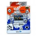 ซิลิโคนสีขาว สำหรับ Wii U GamePad ลาย Splatoon ยี่ห้อ Keys Factory ของแท้จากญี่ปุ่น