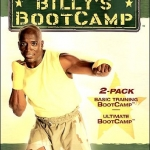 Billy Blanks Basic Training & Ultimate Bootcamp 2 DVDs