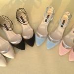 รองเท้า ส้นแบน หัวแหลม Zara แบบใหม่ สไตส์เกาหลี สี ดำ (Pre)