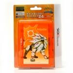 【SUNMOON】3DS™ HORI™ Pokemon Sun Card Case 24 (Orange) กล่องใส่ตลับเกม 3DS™ 24 ชิ้นลายโปเกมอนซัน สีส้ม ยี่ห้อโฮริ ของแท้ HORI™ 3DS-259