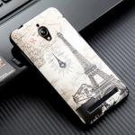 เคส asus zenfone go 5 zc500tg Asus Live TPU พิมพ์ลาย 3D EIFFEL