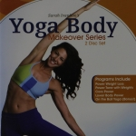 Yoga Body Makeover Series with Sara Ivanhoe 2 DVD Set