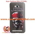 เคส asus zenfone max zc550kl TPU พิมพ์ลาย 3D Pirates Caribbean