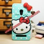 เคส zenfone 6 ซิลิโคน การ์ตูน 3D KITTY สีมิ้นต์ Cute Silicone Soft Case/Cover