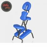เก้าอี้สักลาย เก้าอี้นั่งสัก เก้าอี้พับได้ เก้าอี้พกพา สำหรับการสัก นวด สปา Foldable Portable Massage Tattoo Spa Chair (สีน้ำเงิน BLUE)