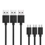 สายชาร์จ Micro USB คุณภาพสูง ยี่ห้อ AUKEY (3 เส้น) *ขายดี*