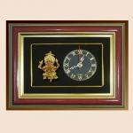 ของที่ระลึก กรอบนาฬิกาพระพิฆเนศ ปางรวยทรัพย์รวยเสน่ห์ ขนาด 9 นิ้ว x 7 นิ้ว