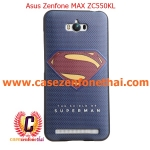 เคส asus zenfone max zc550kl TPU พิมพ์ลาย 3D SUPERMAN (BLUE)