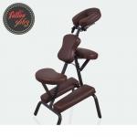 เก้าอี้สักลาย เก้าอี้นั่งสัก เก้าอี้พับได้ เก้าอี้พกพา สำหรับการสัก นวด สปา Foldable Portable Massage Tattoo Spa Chair (สีน้ำตาล CHOCOLATE COLOR)