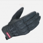 ถุงมือขี่มอเตอร์ไซค์ Komine GK-118 สียีนส์ดำ