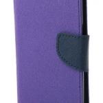 เคส asus zenfone 2 laser 5.5 ze550kl ฝาพับ mercury fancy diary case สีม่วง-น้ำเงิน