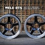 """WELD 18""""พร้อมยาง NITTO NT420S โปรโมรชั่นถูกๆ"""