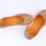 รองเท้าส้นแบนแฟชั่นใหม่สตรี สีทอง size 36-37