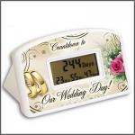 นาฬิกานับเวลาถอยหลังสู่วันแต่งงาน - Wedding Countdown Clock