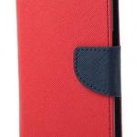 เคส asus zenfone go 5 zc500tg , asus live g500tg ฝาพับ mercury fancy diary case สีแดง-น้ำเงิน