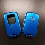 กรอบ-เคส ใส่กุญแจรีโมทรถยนต์ Honda HR-V,Jazz,CR-V,Accord,City,BR-V Smart Key 2,3,4 ปุ่ม สีฟ้า