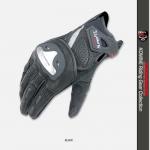 ถุงมือขี่มอเตอร์ไซค์ Komine GK-144 สีดำ