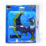 【SUNMOON】Hori™ Pokemon Sun&Moon TPU For 【New3DS LL/XL】 สีฟ้า ลายโปเกมอน Lunala (HORI 3DS-491)