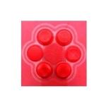 ซิลิโคนครอบปุ่มอนาล็อค สีแดง สำหรับ PSVita ใช้ได้ทั้ง รุ่น 1000 / รุ่น 2000