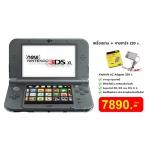 เครื่อง New 3DS XL Black สีดำ + อแดปเตอร์ 220v.