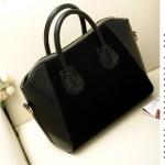 กระเป๋าแฟชั่นกระเป๋าสะพายไหล่ สีดำ