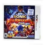 3DS (US) Sonic Boom: Fire & Ice Zone US / English Version