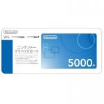 บัตรเติมเงิน eShop ญี่ปุ่น 5000 เยน