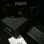 แว่นตาแฟชั่นกันแดด CPS ผู้หญิง สไตส์โฉบเฉียว สีดำ