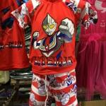 ว่ายน้ำ 3ชิ้น เสื้อ กางเกง หมวก s l xl xxl Ultraman ราคา 380บาท