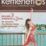 Kettlenetics Kettlebell Slim & Tone with Michelle Khai 2 Disc