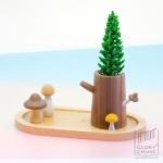 ของขวัญ Wooden Gift - ถาดปลูกต้นไม้รุ่นเห็ด