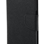 เคส asus zenfone 2 laser 5.5 ze550kl ฝาพับ mercury fancy diary case สีดำ