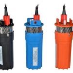 Submersible water pump 24VDC 4''inch ปั้มซัมเมอร์ส 4นิ้ว 24โวลต์ดีซี ปั้มน้ำโซล่าเซลล์