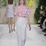 กางเกงเอวสูงขายาว Style Valentinoสีขาว