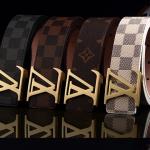 เข็มขัด Louis Vuitton Damier ลายตาราง สีดำ งาน:พรีเมี่ยม