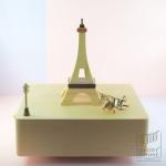 กล่องเพลง Eiffel Tower ♫ Waltz Of The Flowers ♫ กล่องดนตรี Wooderful Life