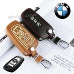 ซองหนังแท้ใส่กุญแจรีโมทรถยนต์ รุ่นเรืองแสง Bmw New Series 3,5
