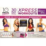 Xpress Workouts: 10-Minute 30-Day Solution System, 5 DVDs