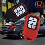 ปลอกซิลิโคน หุ้มกุญแจรีโมทรถยนต์ Honda Accord,Civic 2016-17,Civic Hatchback,CR-V G5 Smart Key