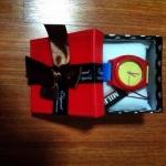 นาฬิกา แฟชั่นสไตล์ เกาหลี แบบใหม่ น่ารัก พร้อมกล่องสุดหรู (พร้อมส่ง)